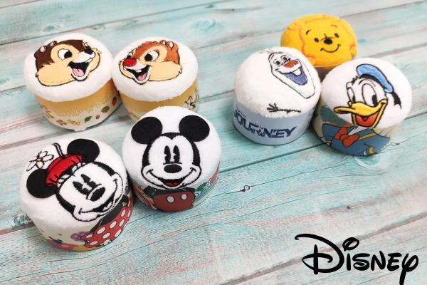 迪士尼造型聯名款蛋糕毛巾 (小方巾)